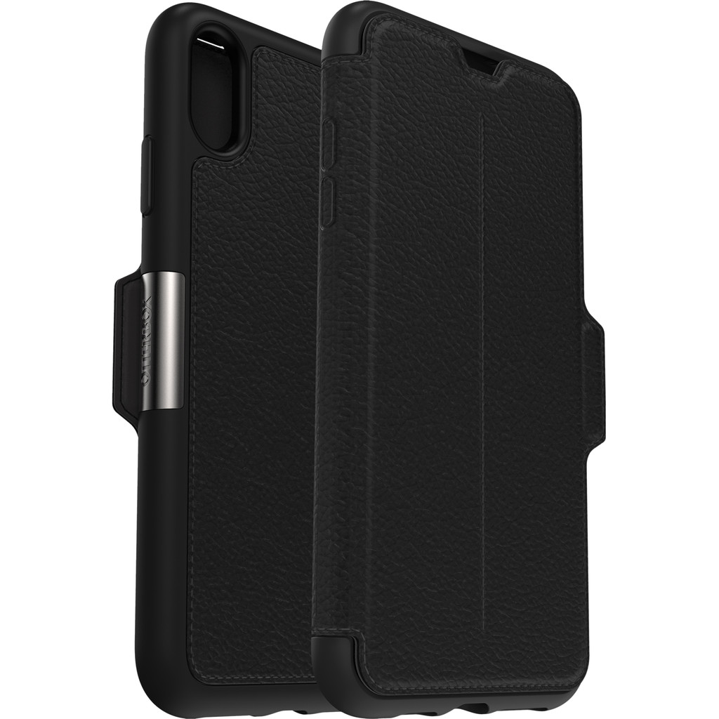 Otterbox Strada Apple iPhone Xs Max Book Case Zwart