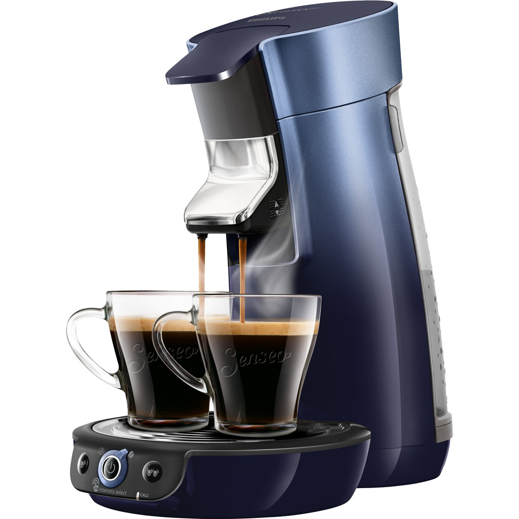 Philips Senseo Viva Café Duo Select HD6566/60 Blauw
