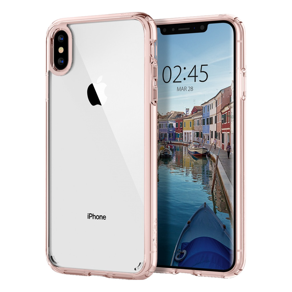 Spigen Ultra Hybrid Apple iPhone Xs Max Back Cover Roze