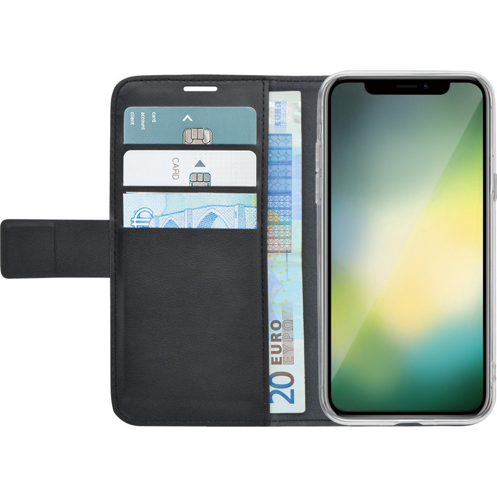 Azuri Wallet Magneet Apple iPhone Xr Book Case Zwart