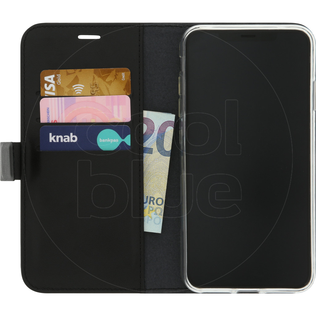 Azuri Wallet Magneet Apple iPhone Xs Max Book Case Zwart