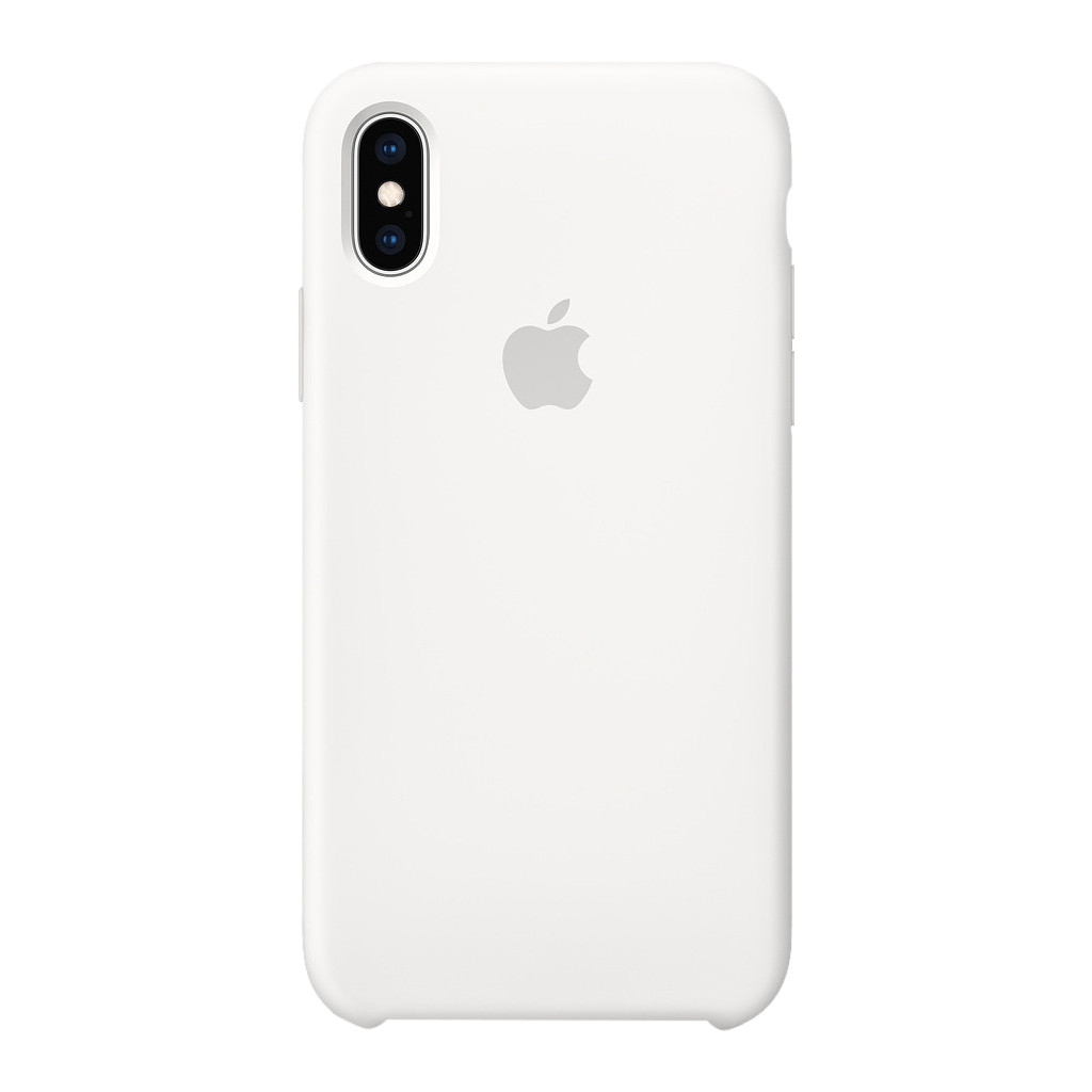 Apple iPhone Xs Silicone Back Cover Wit