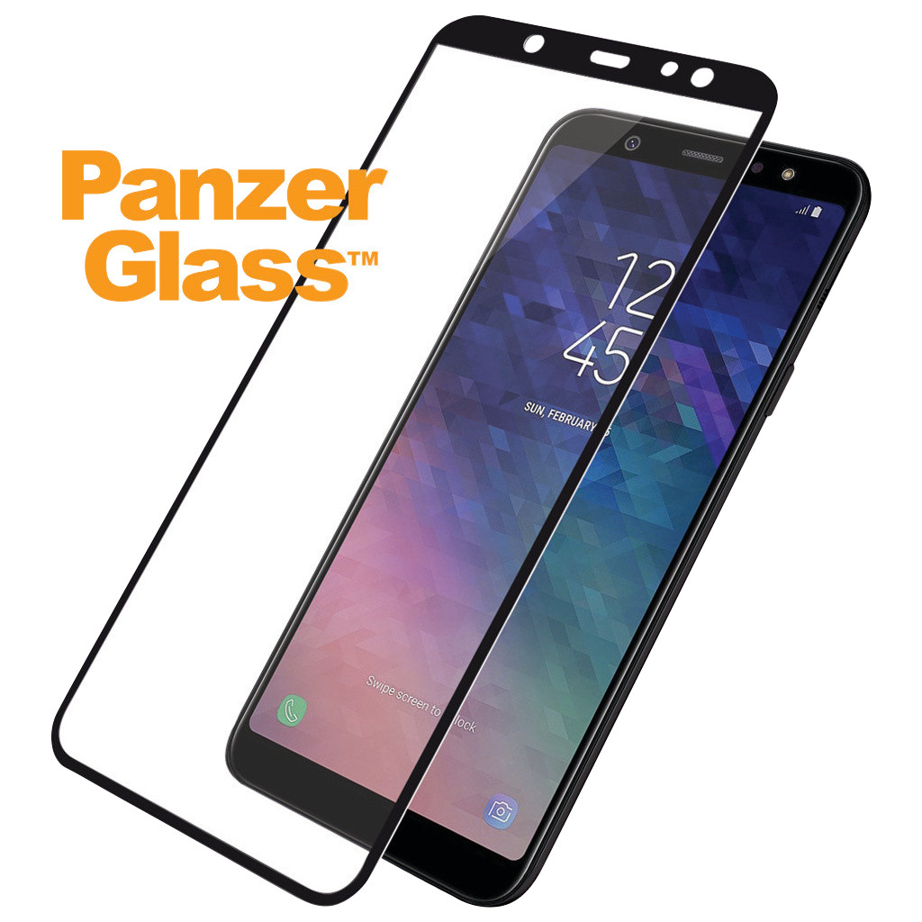 PanzerGlass Samsung Galaxy A6 Plus (2018) Screenprotector Glas