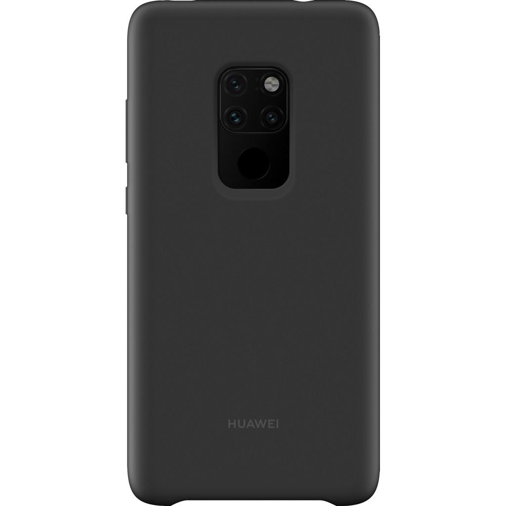 Huawei Magnetic Silicone Huawei Mate 20 Back cover Zwart
