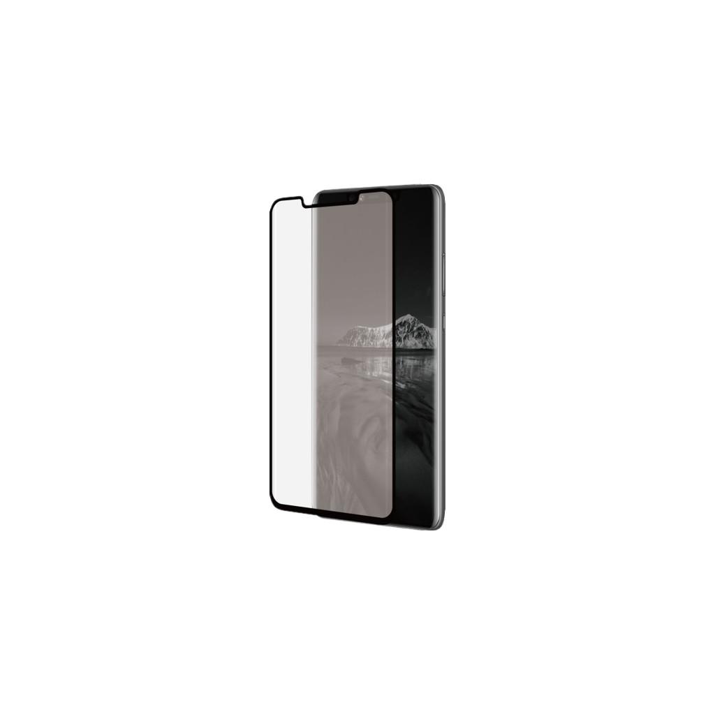 Azuri Curved Gehard Glas Huawei Mate 20 Pro Screenprotector Glas Zwart