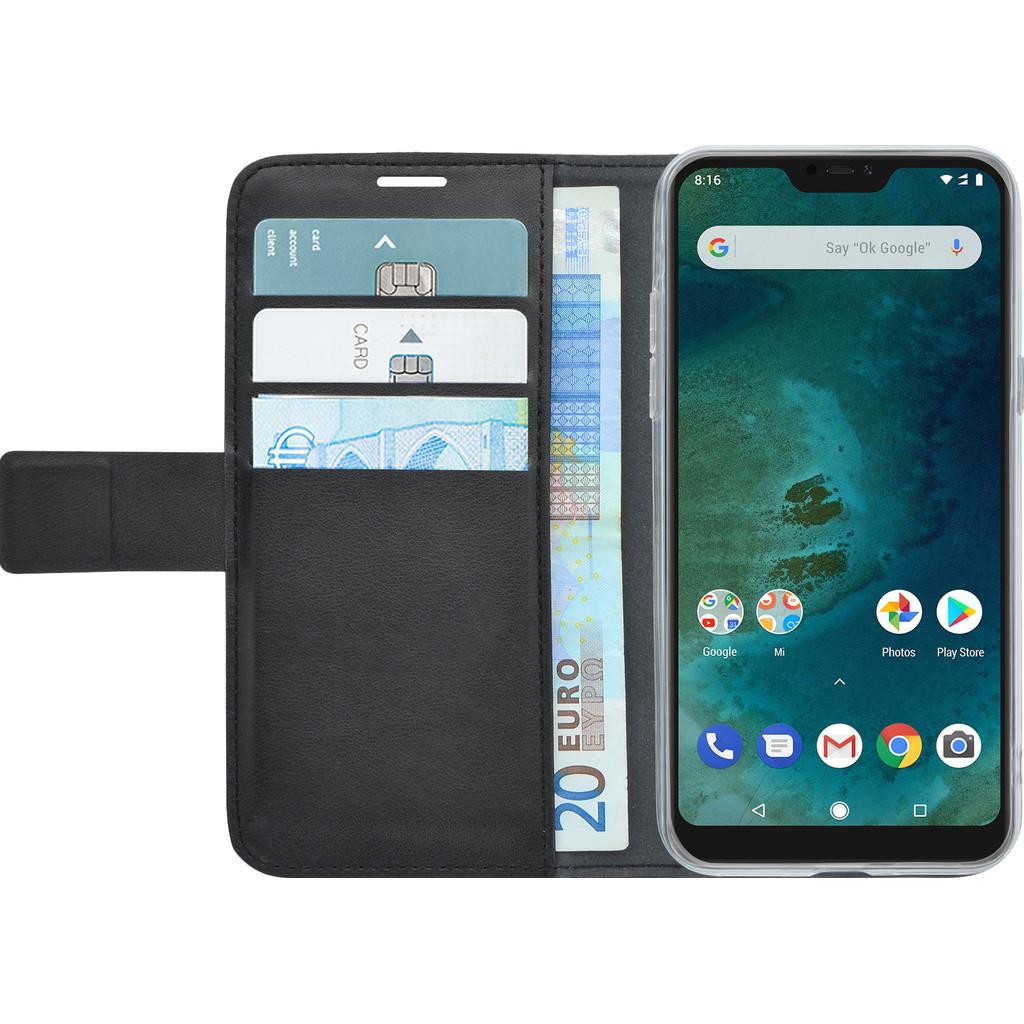 Azuri Wallet Magneet Xiaomi MI A2 Lite Book Case Zwart