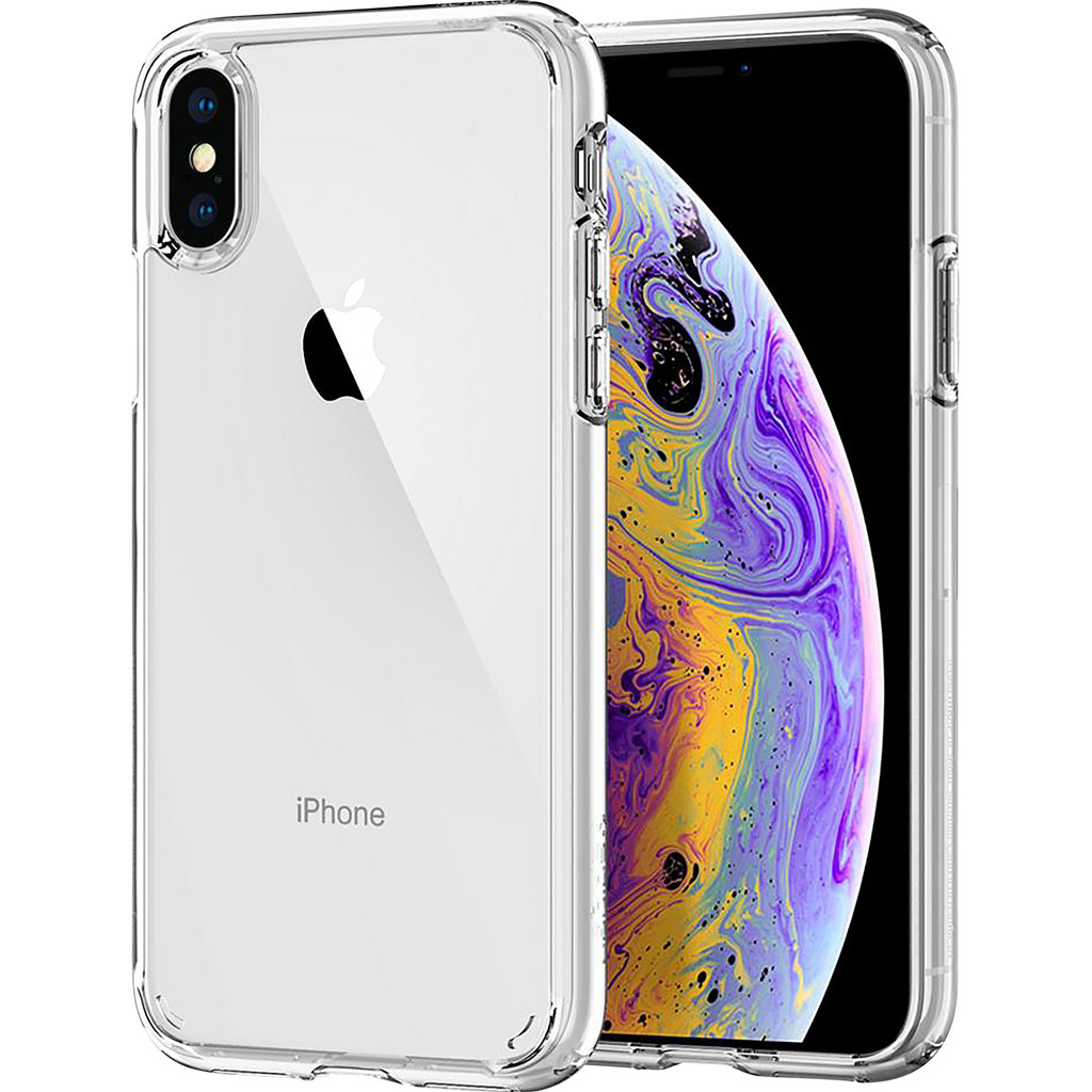 Spigen Ultra Hybrid Apple iPhone Xs/X Back Cover Transparant