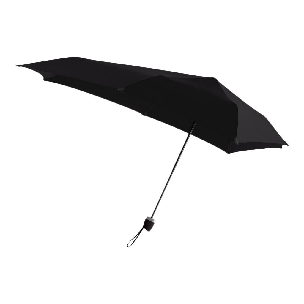 Senz° Manual Stormparaplu Pure Black