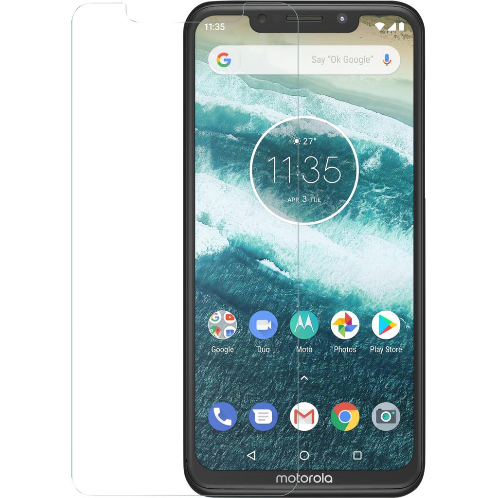 Azuri Gehard Glas Motorola One Screenprotector Glas