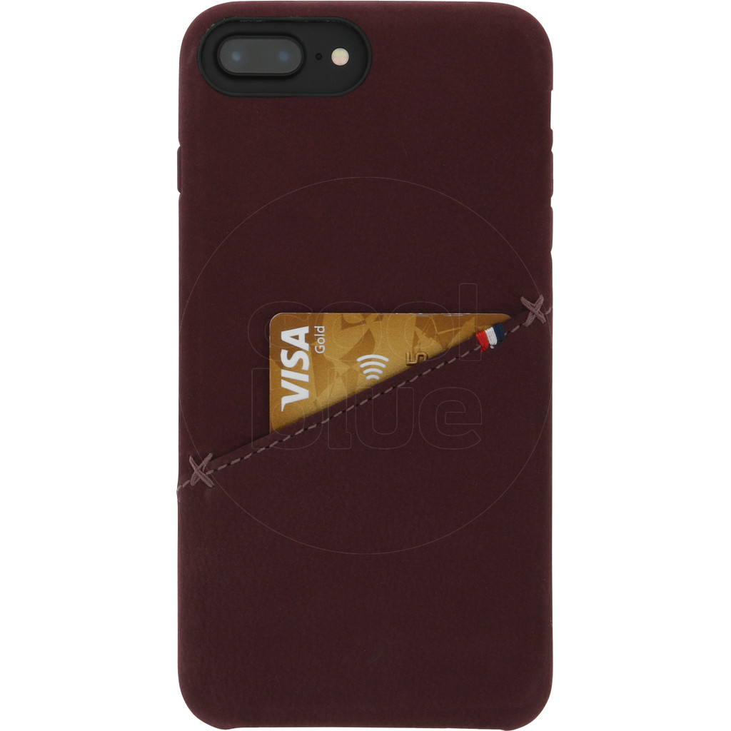 Decoded Leather iPhone 8 Plus / 7 Plus / 6s Plus / 6 Plus Back Cover Rood