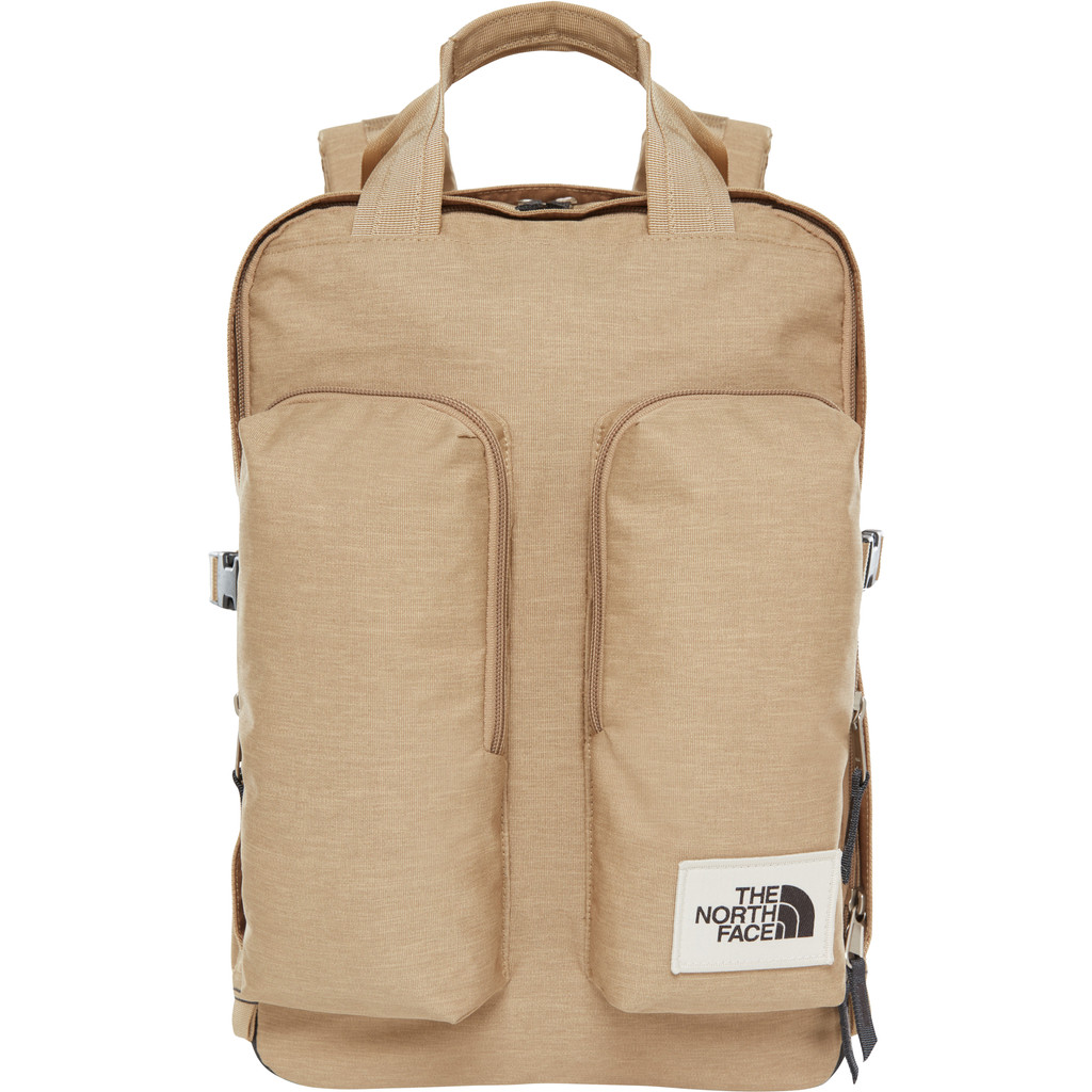 "The North Face Mini Crevasse 15"" Kelp Tan Dark Heather 14L"