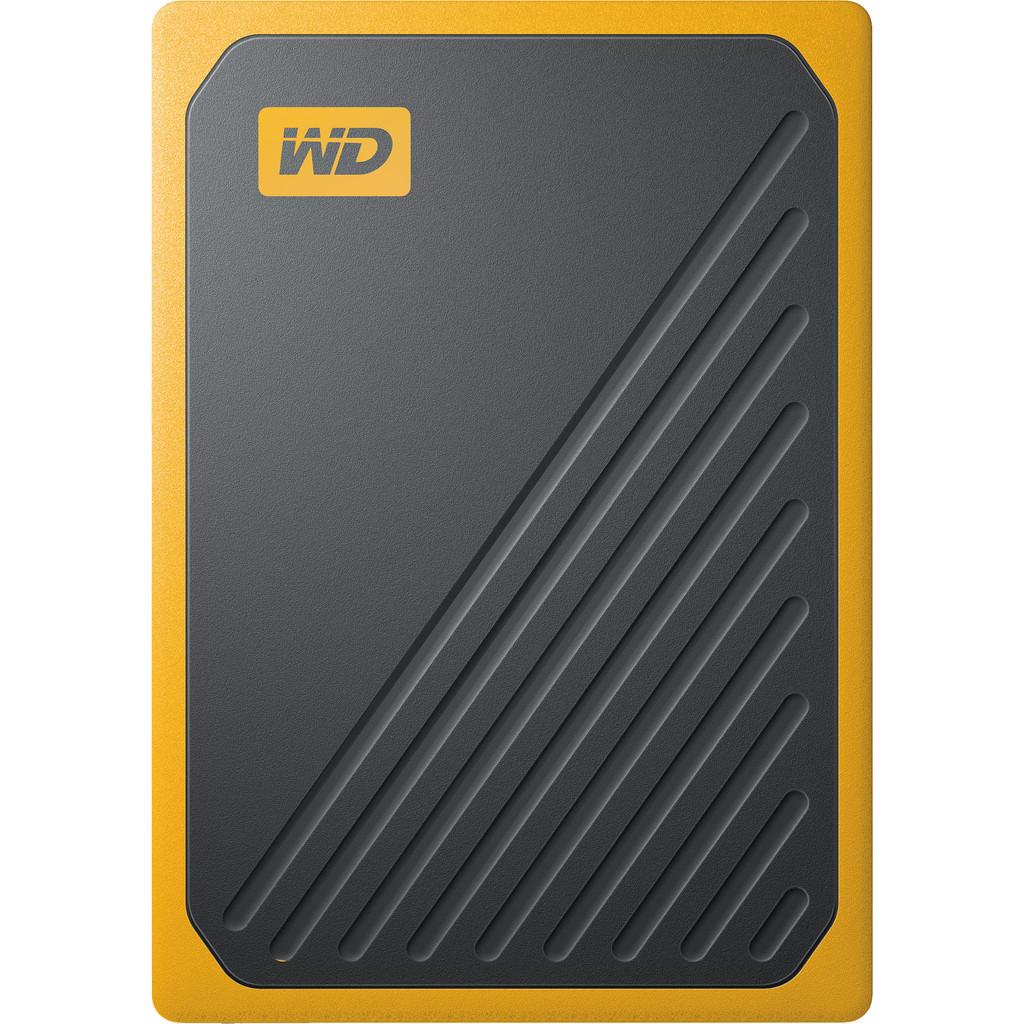 WD My Passport Go 500 GB Zwart / Geel
