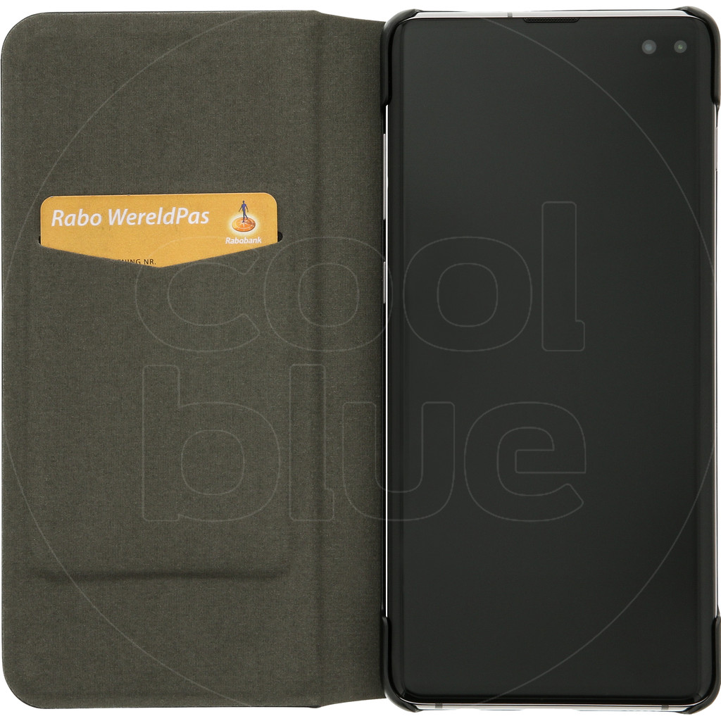 Azuri Booklet Ultra Thin Samsung Galaxy S10 Plus Book Case Zwart