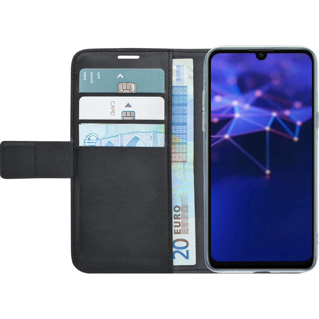 Azuri Wallet Magneet Huawei P Smart (2019) Book Case Zwart