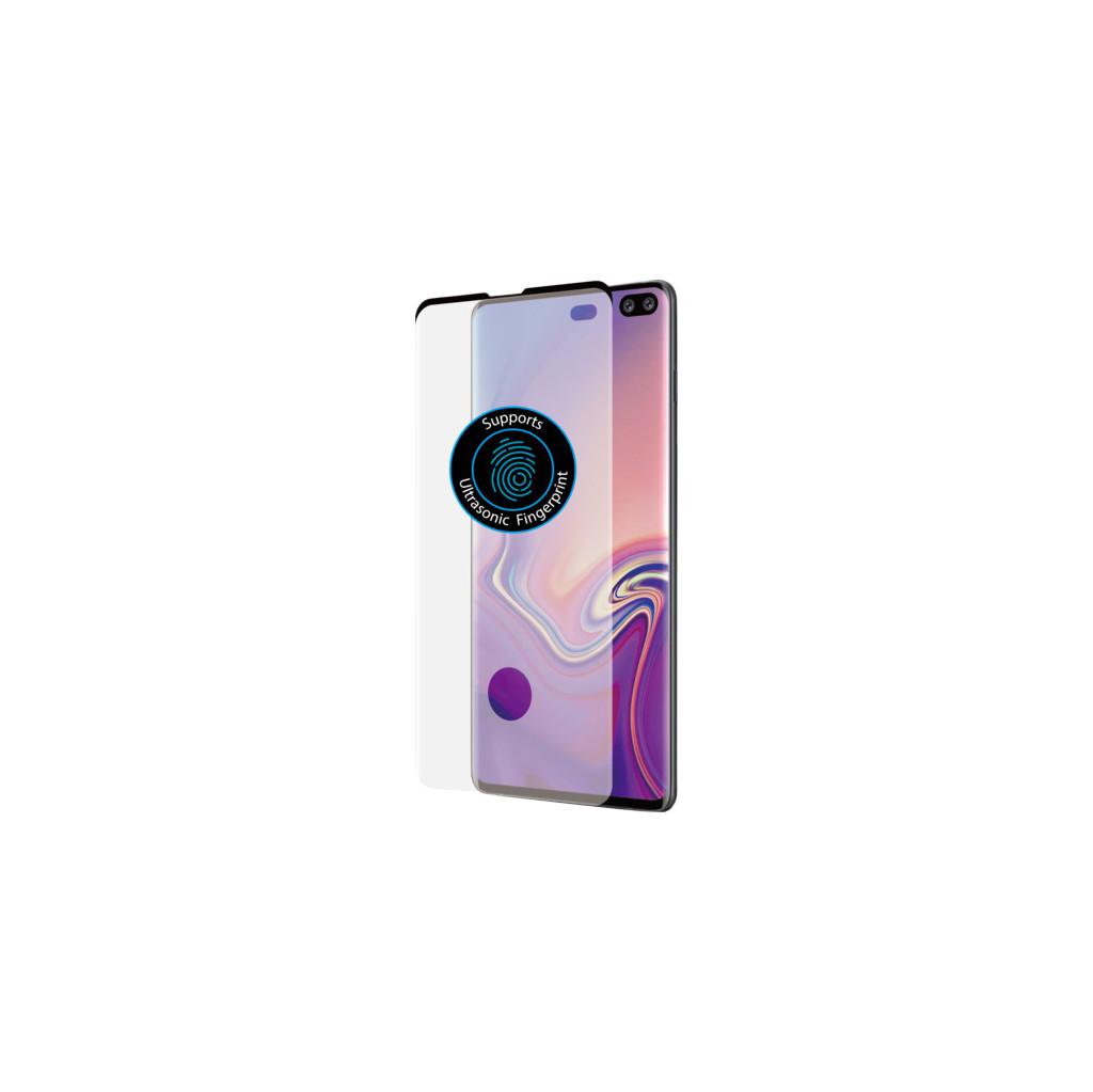Azuri Curved Gehard Glas Samsung Galaxy S10 Plus Screenprotector