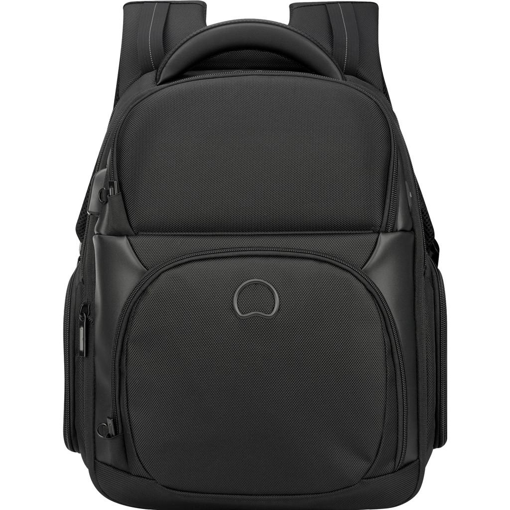 "Delsey Quarterback Premium 2-Vaks 13"" Black 20L"