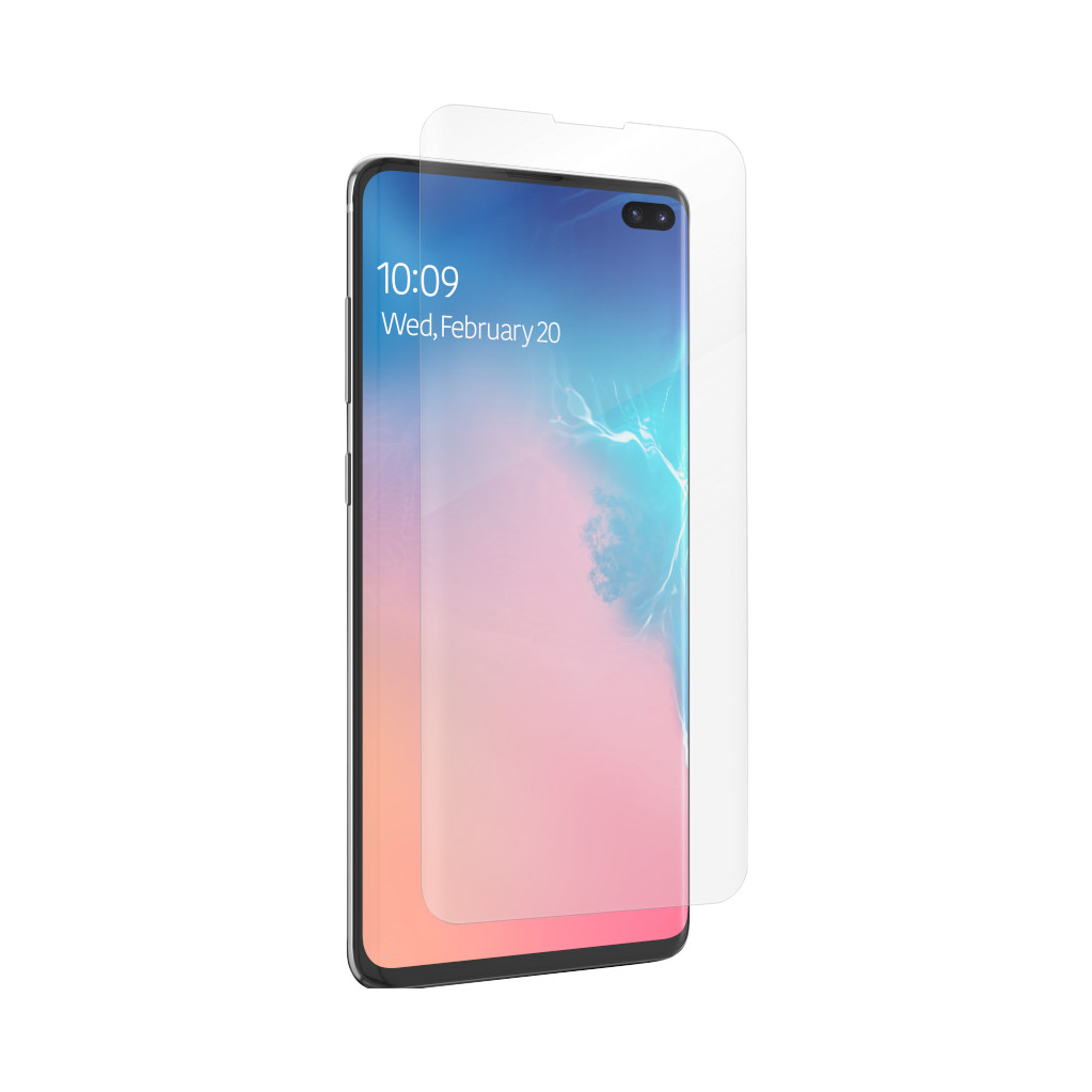 InvisibleShield Ultra Clear Samsung Galaxy S10 Plus Screenprotector Plastic