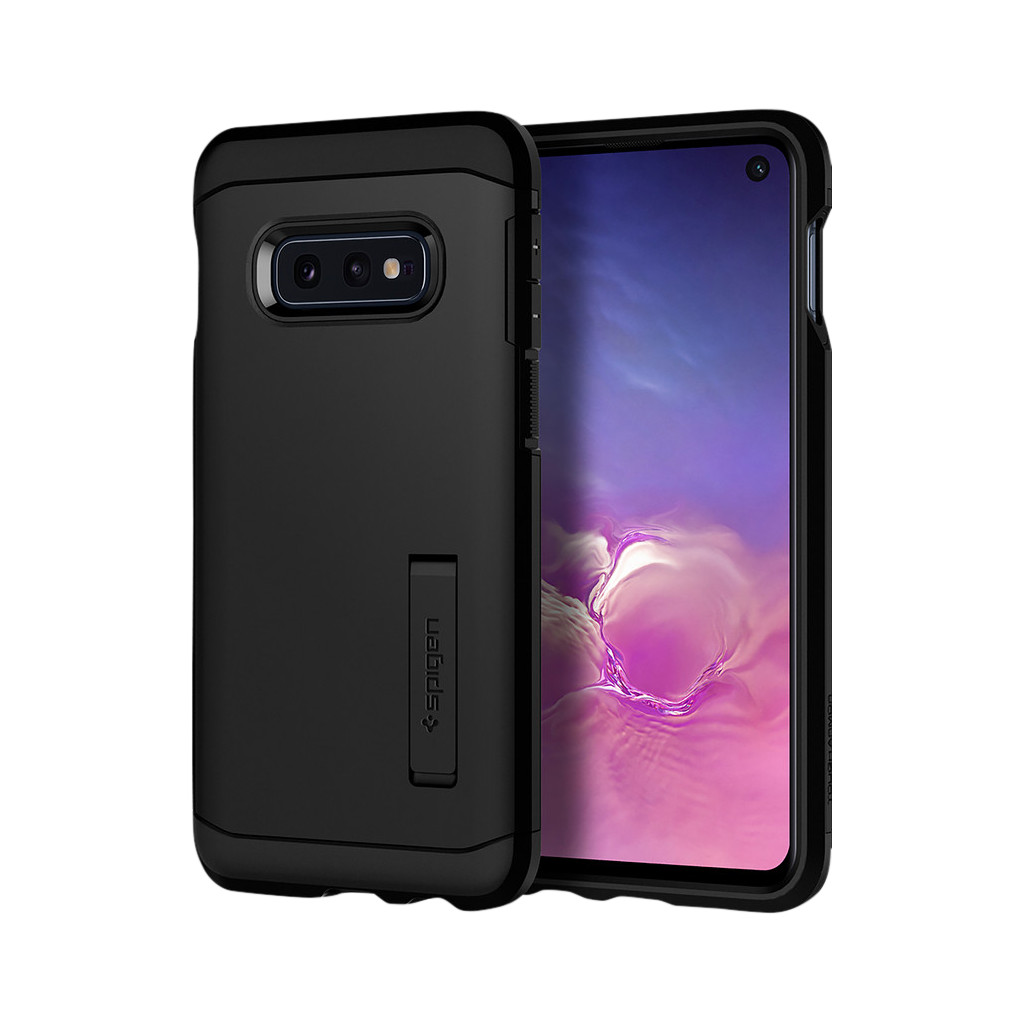 Spigen Tough Armor Samsung Galaxy S10e Back Cover Zwart