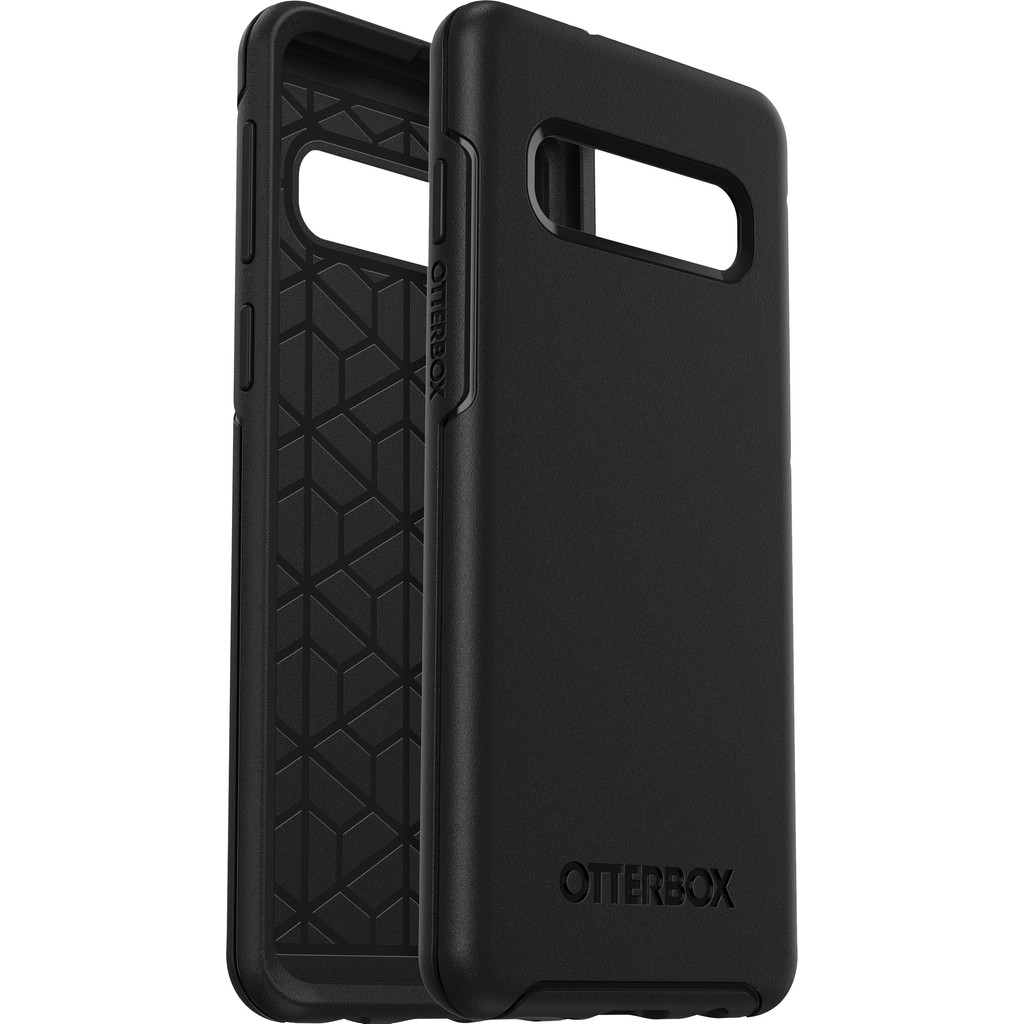 OtterBox Symmetry Samsung Galaxy S10 Back Cover Zwart