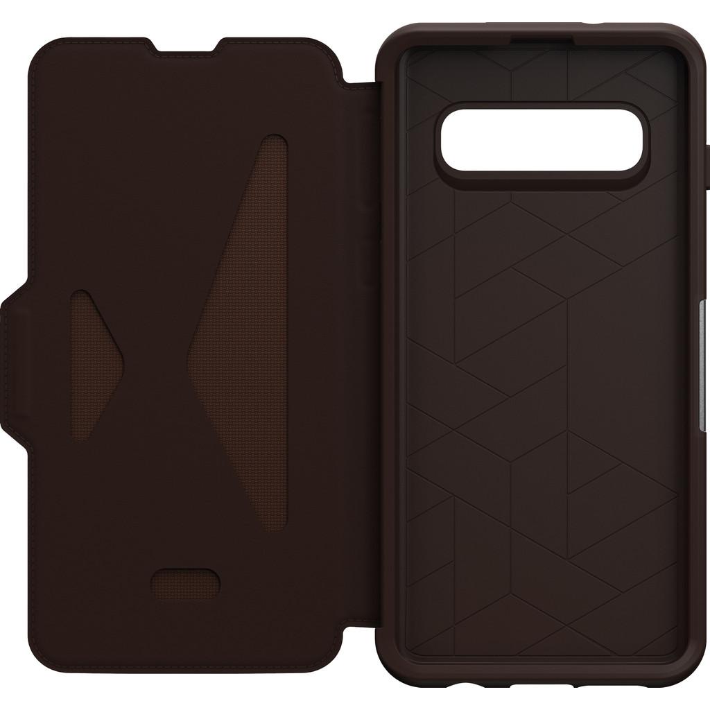 OtterBox Strada Samsung Galaxy S10 Book Case Bruin