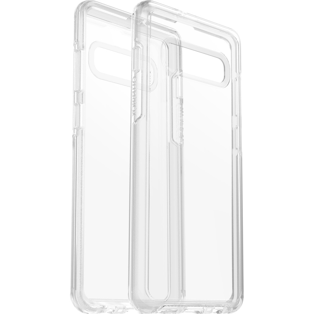 OtterBox Symmetry Clear Samsung Galaxy S10 Plus Back Cover Transparant