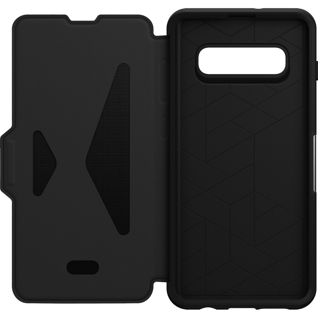 OtterBox Strada Samsung Galaxy S10 Plus Book Case Zwart