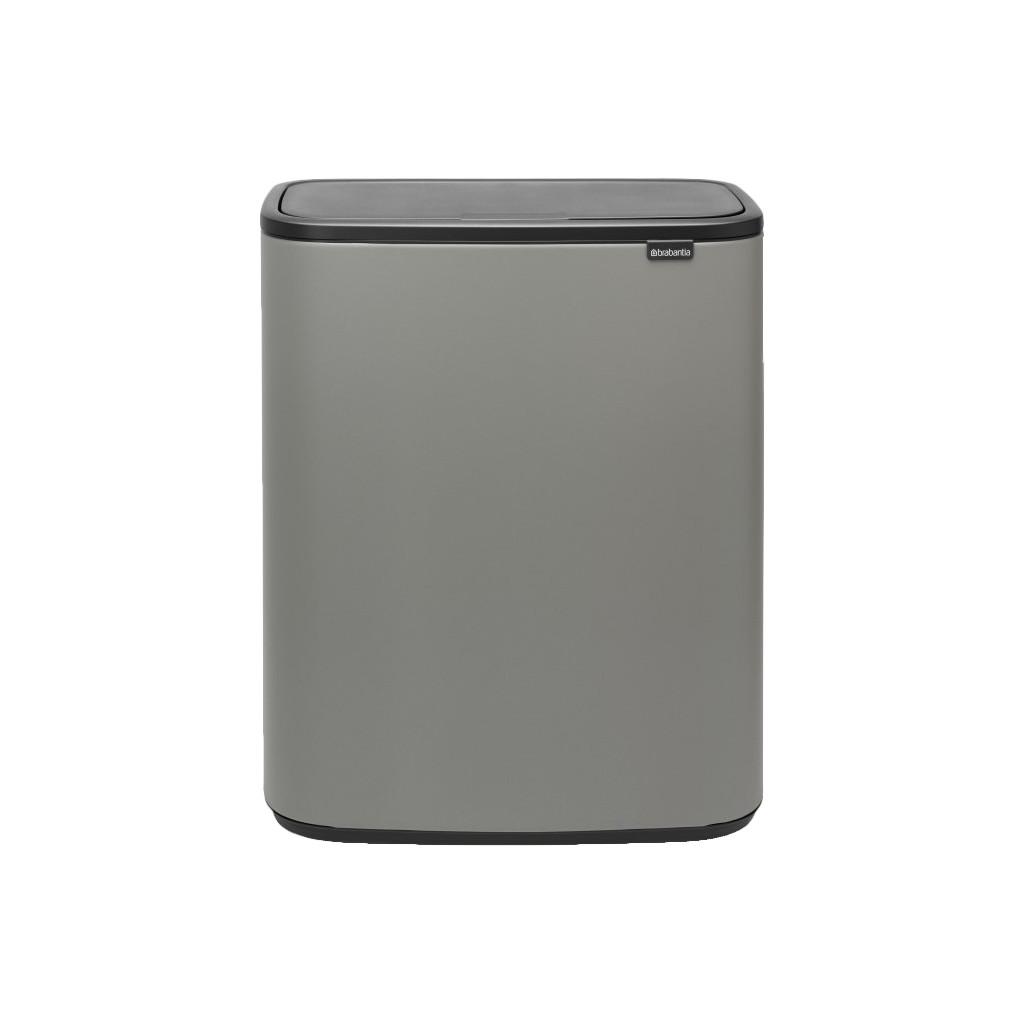 Brabantia Bo Touch Bin 60 Liter Mineral Concrete Grey
