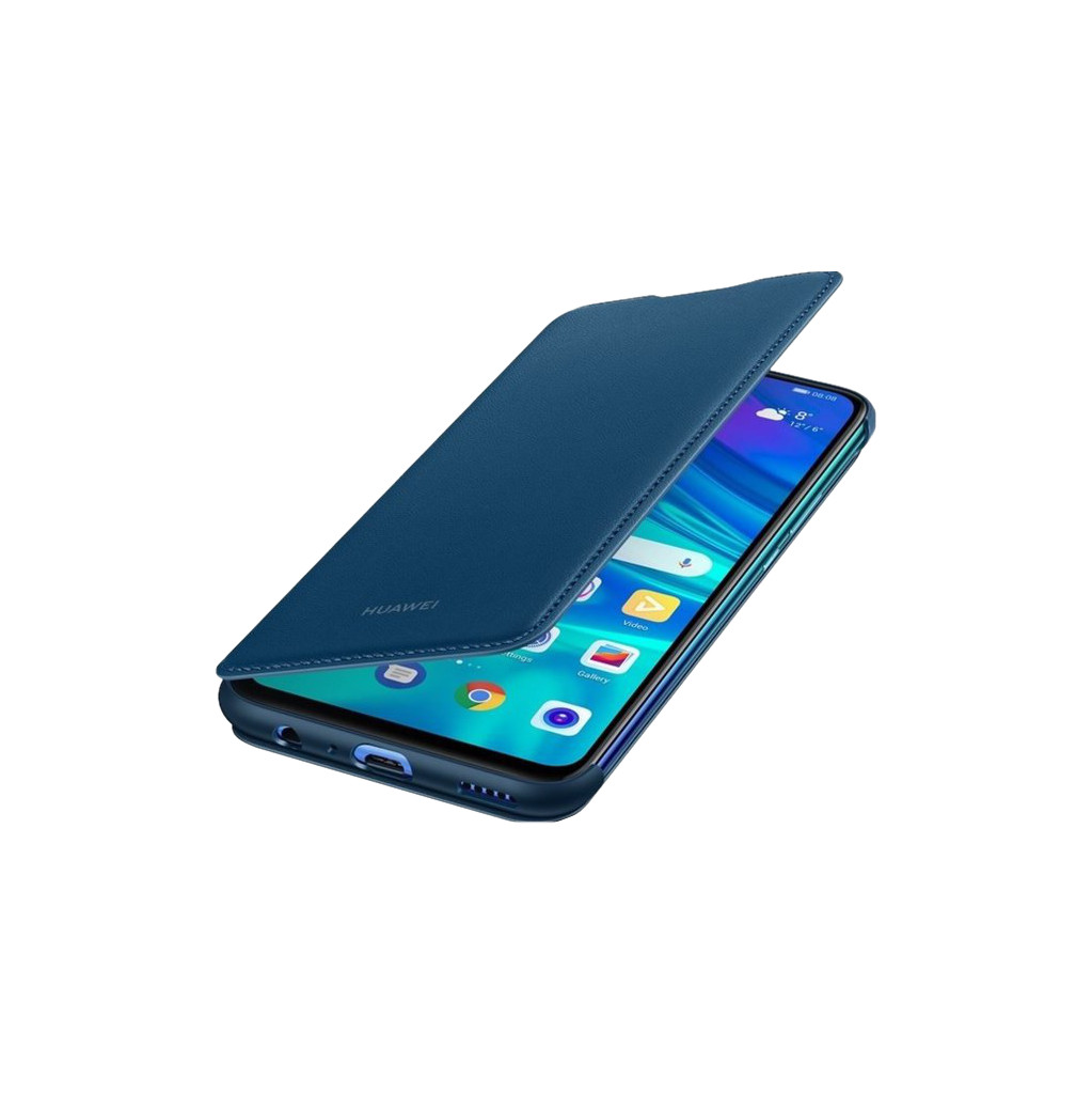 Huawei P Smart (2019) Flip Cover Book Case Blauw