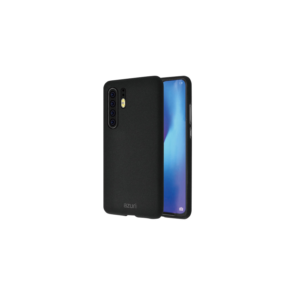 Azuri Flexible Sand Huawei P30 Pro Back Cover Zwart