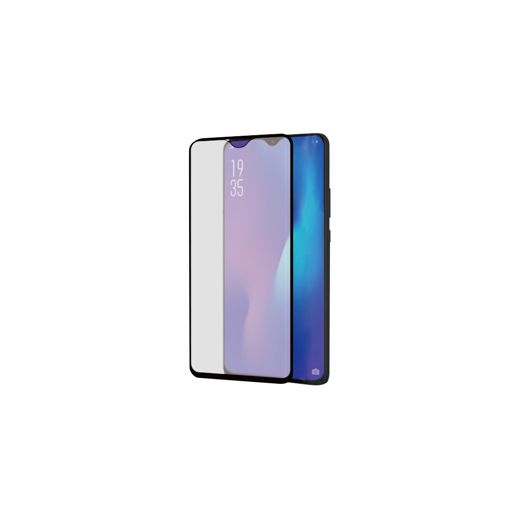 Azuri Curved Gehard Glas Huawei P30 Lite Screenprotector Glas Zwart