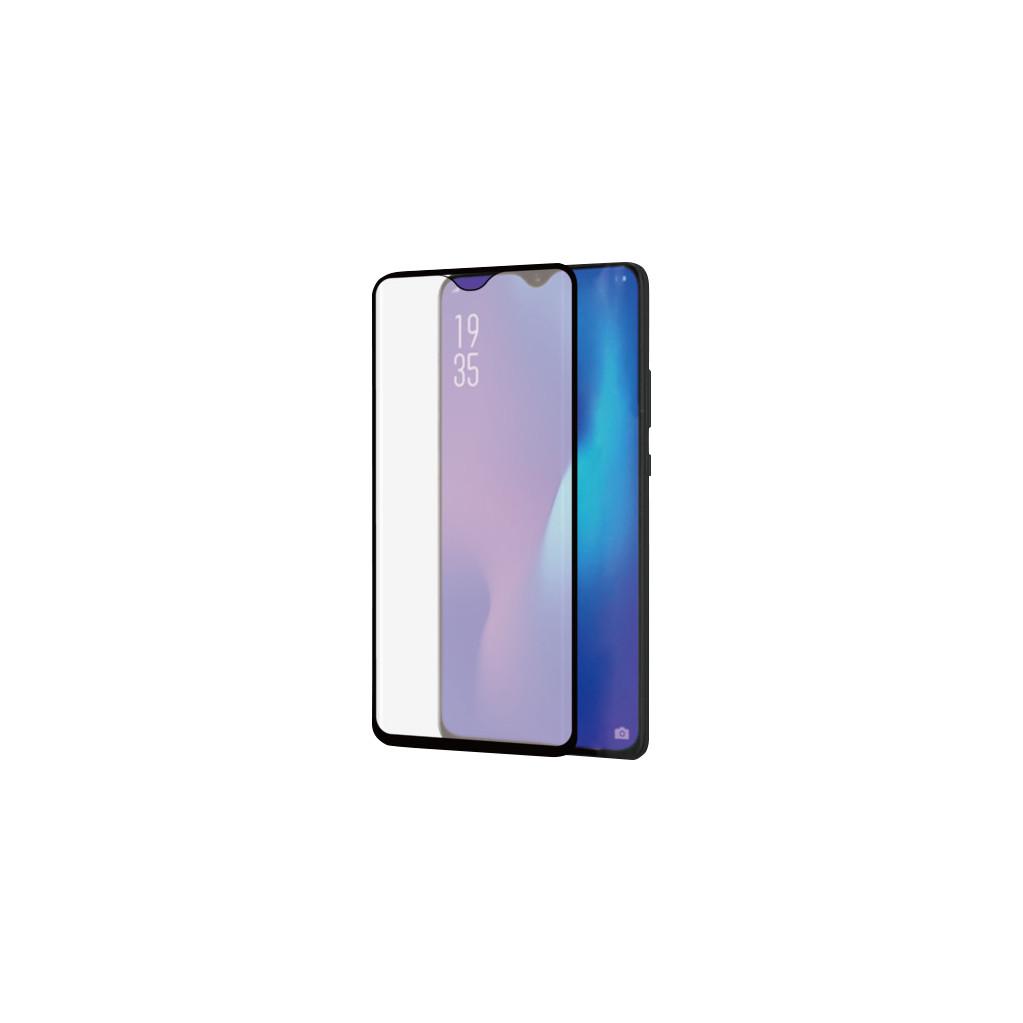 Azuri Curved Gehard Glas Huawei P30 Pro Screenprotector Glas Zwart