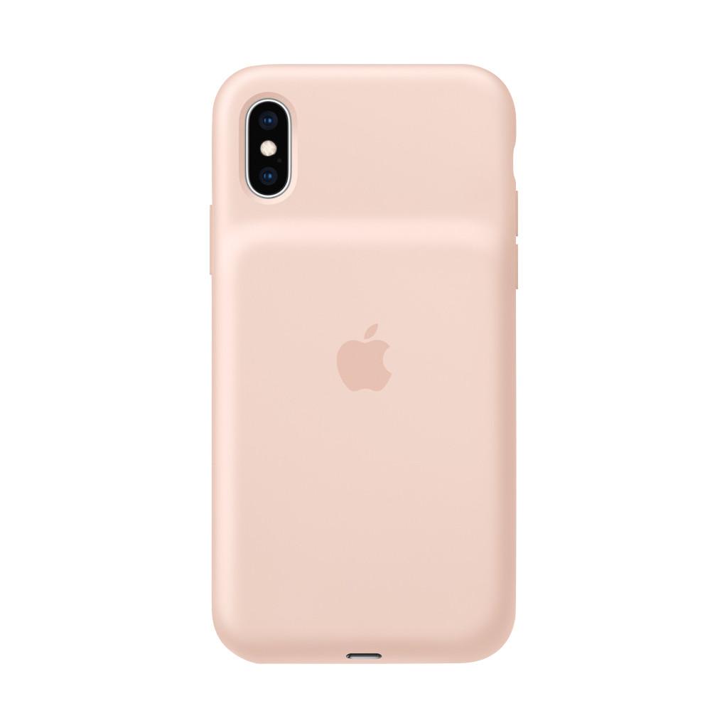 Apple iPhone Xs Max Smart Battery Case Rozenkwarts