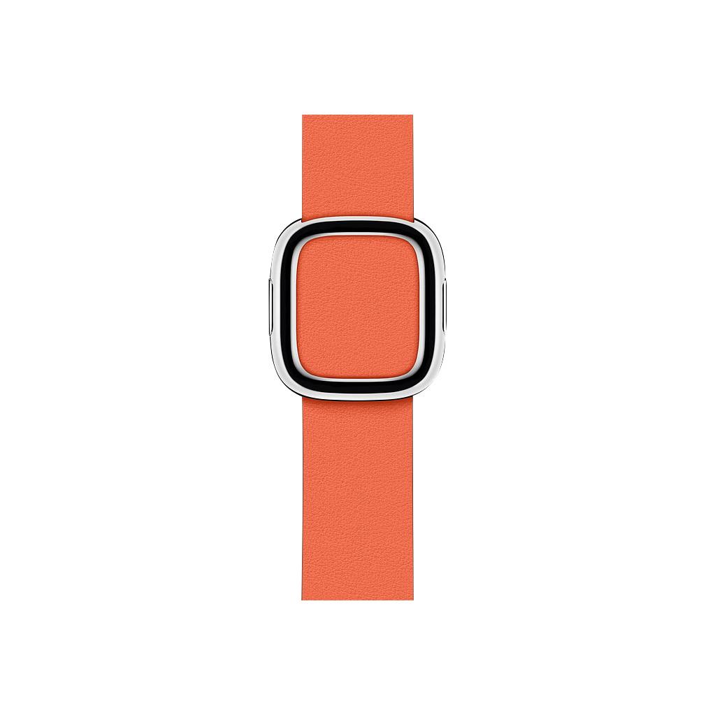 Apple Watch 40mm Modern Leren Horlogeband Zonsondergang- Medium