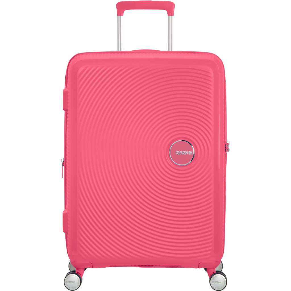 American Tourister Soundbox Expandable Spinner 67cm Hot Pink