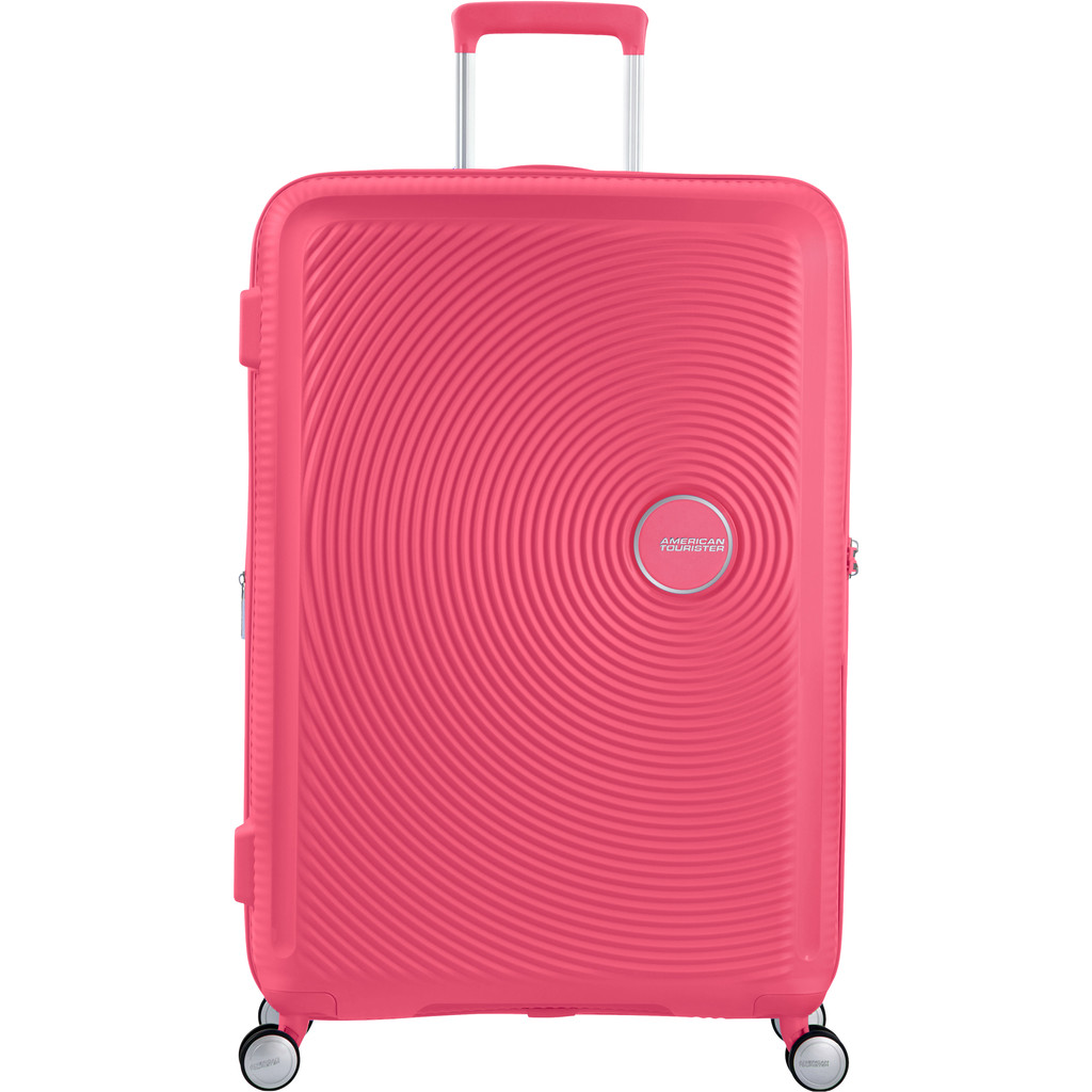 American Tourister Soundbox Expandable Spinner 77cm Hot Pink