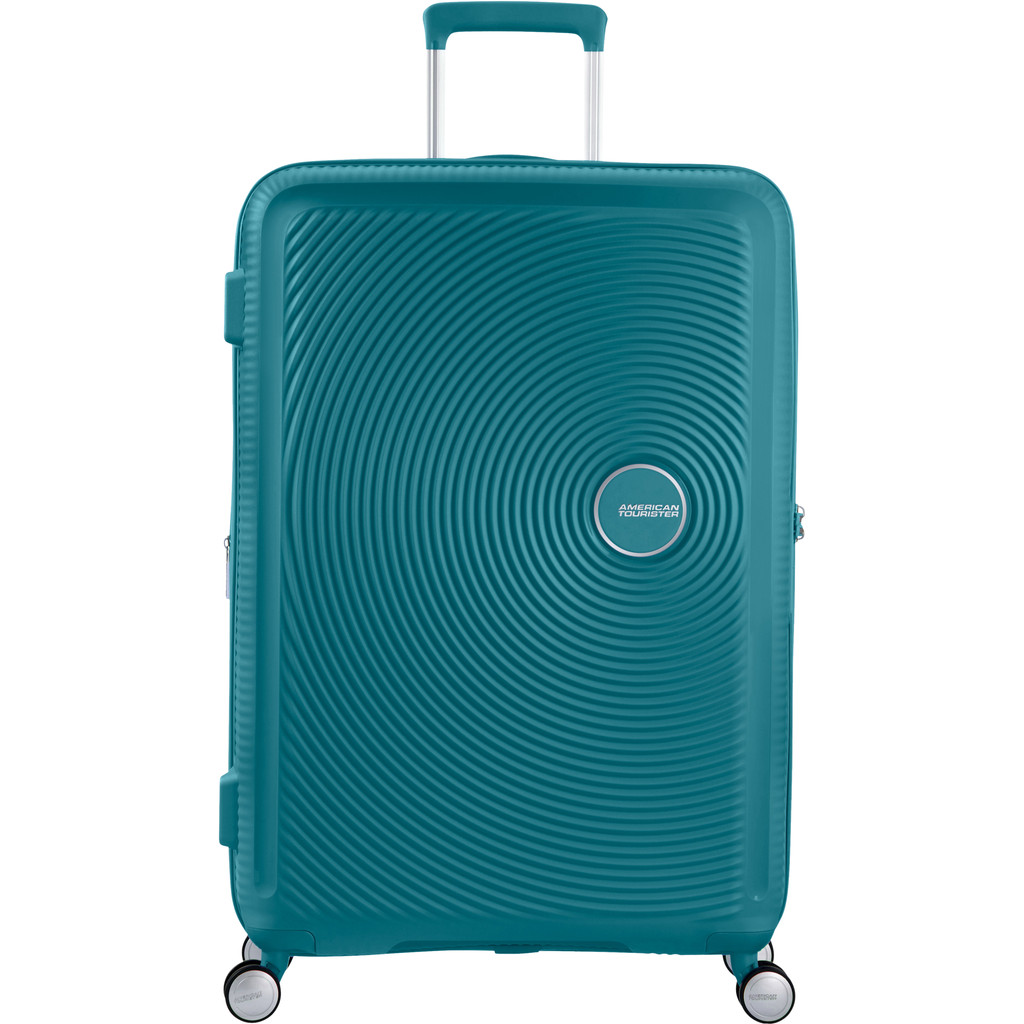 American Tourister Soundbox Expandable Spinner 77cm Jade Green