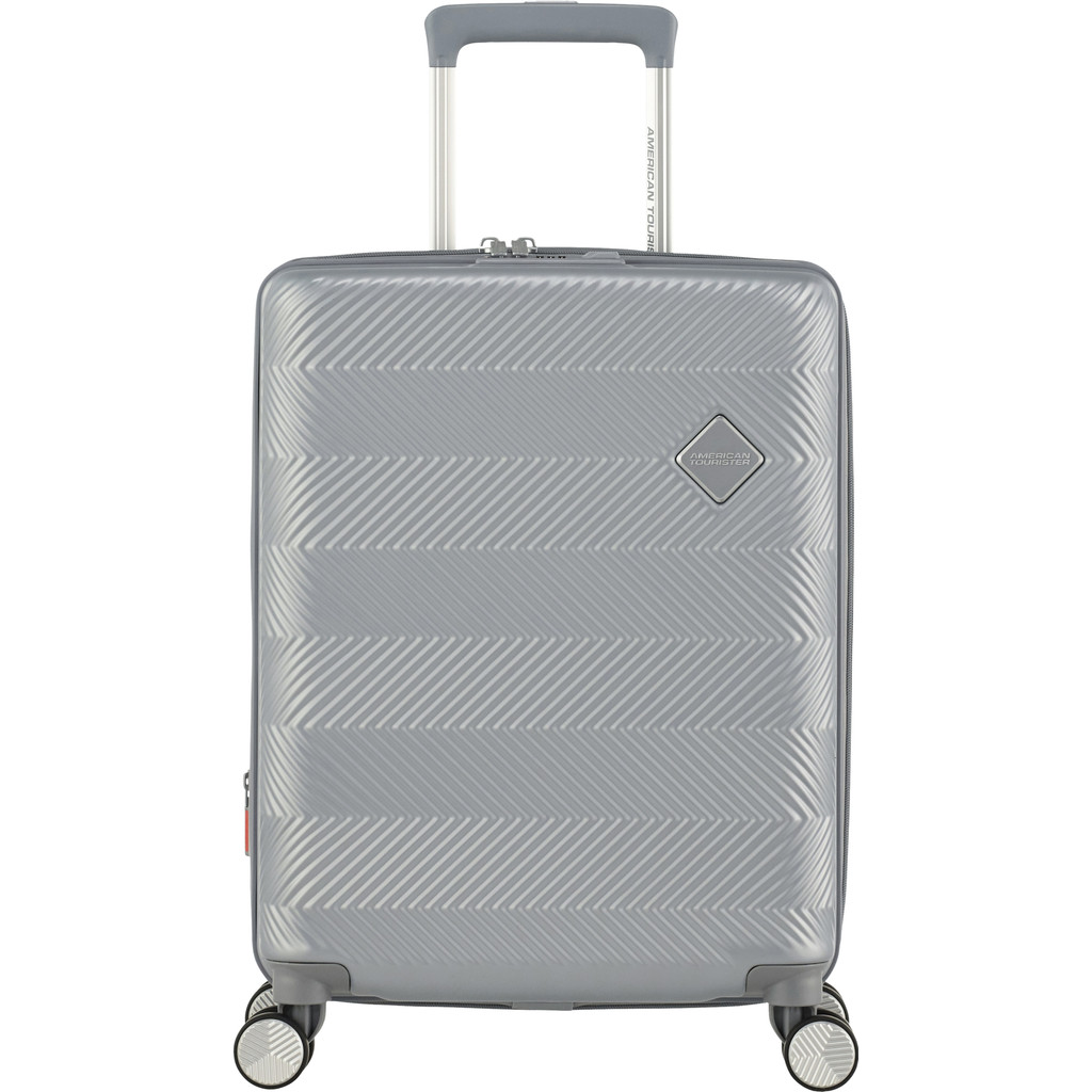 American Tourister Flylife Expandable Spinner 55cm Sky Silver