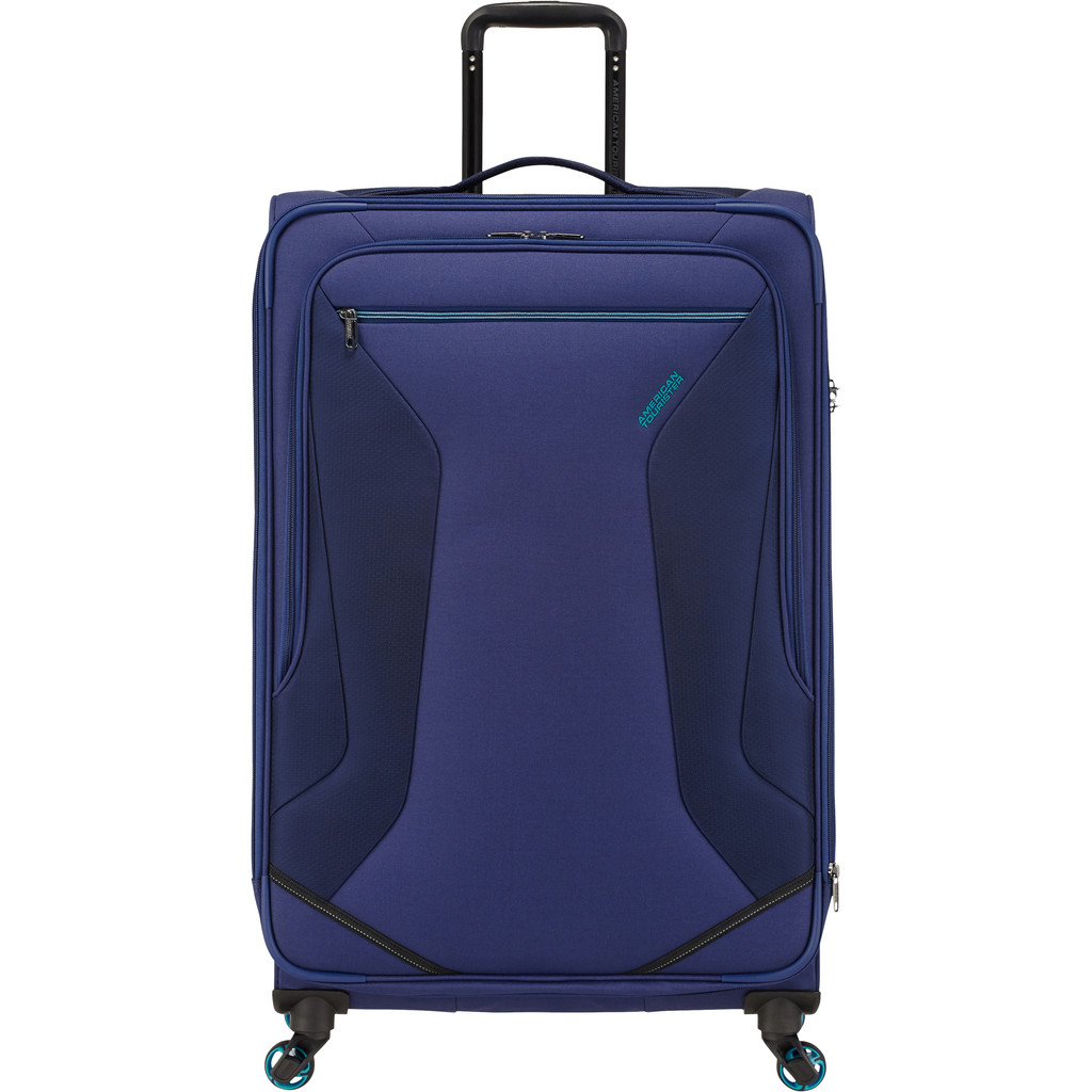 American Tourister Eco Wanderer Expandable Spinner 79cm Navy