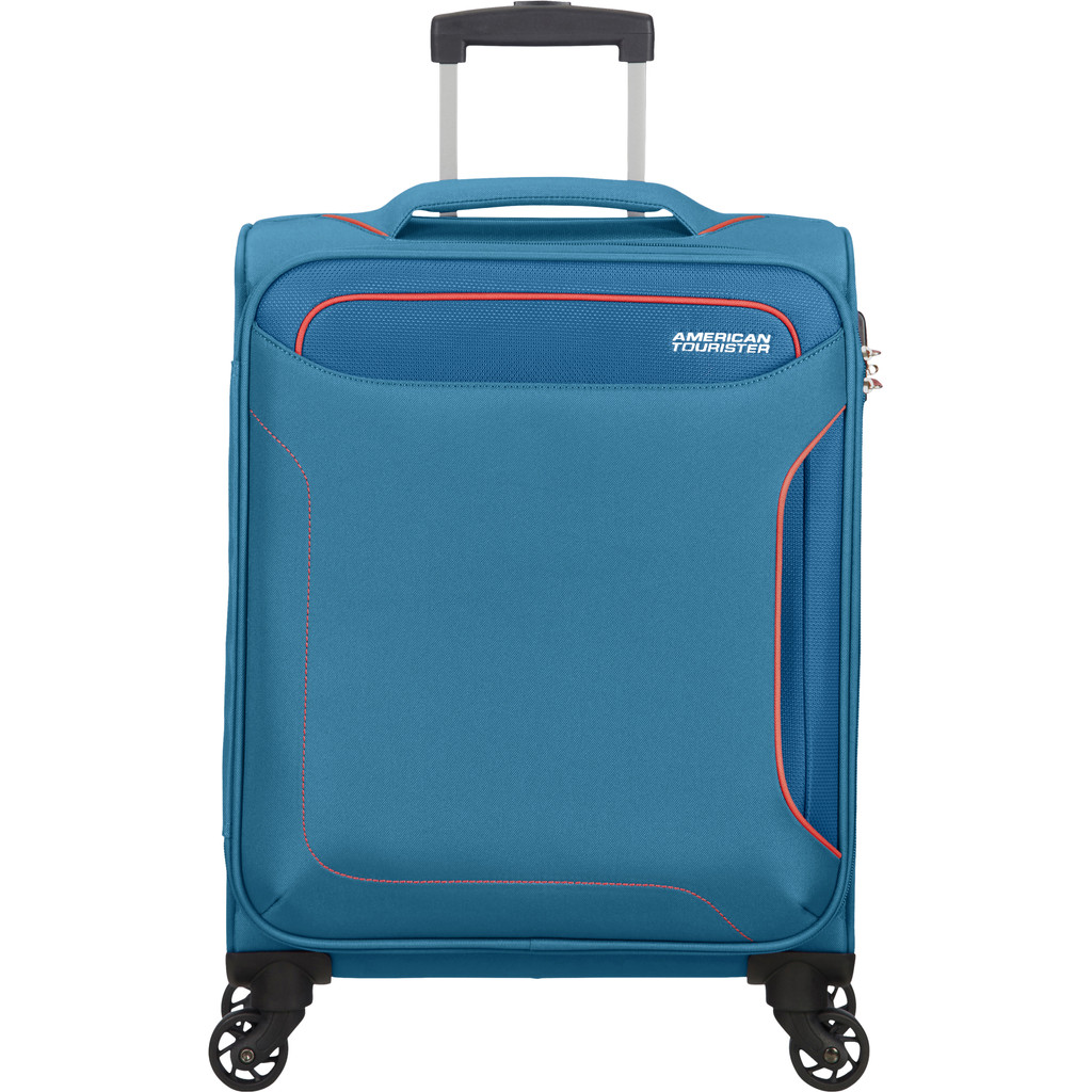 American Tourister Holiday Heat Spinner 55cm Denim Blue
