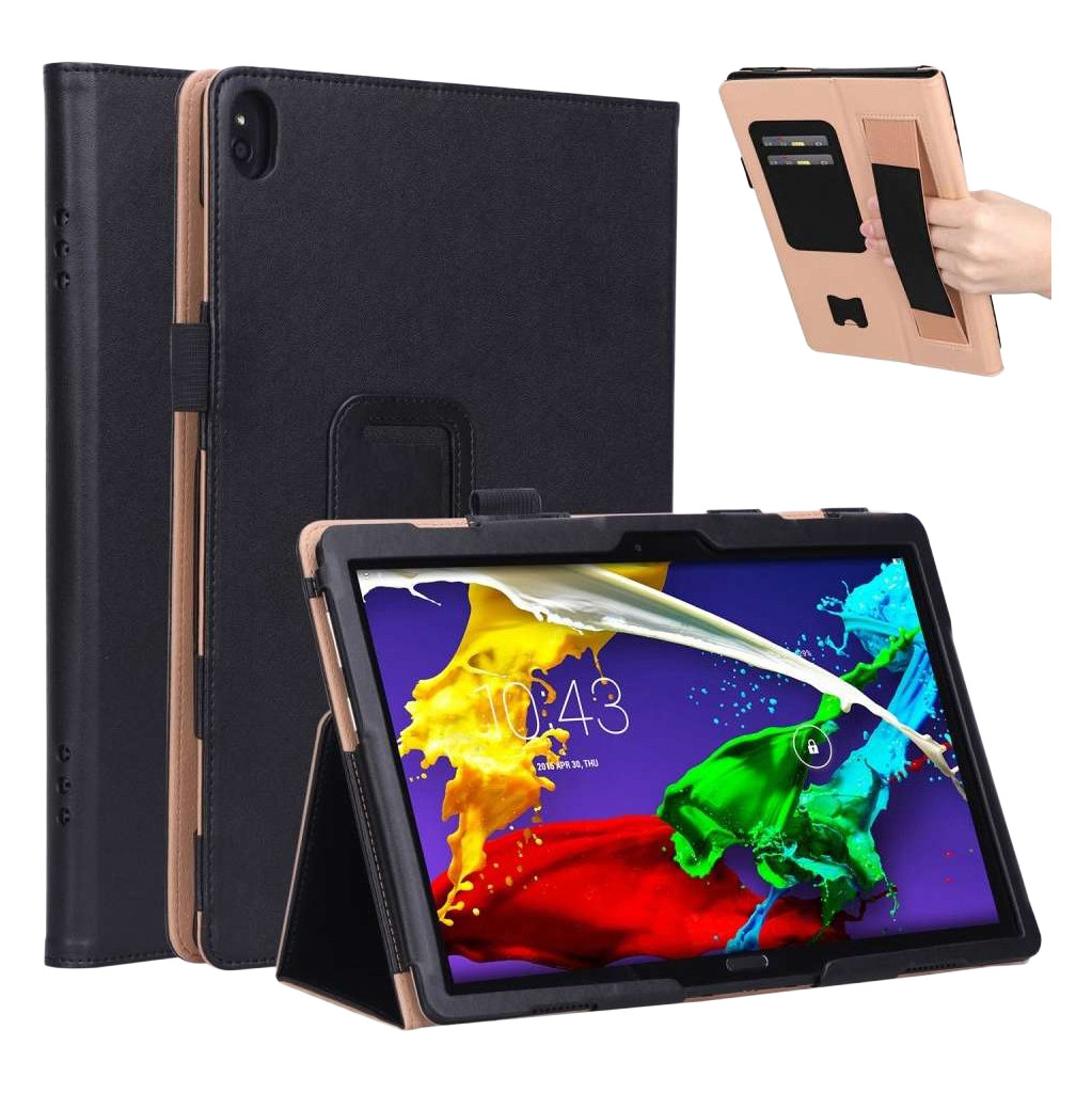 Just in Case Lenovo Tab P10 Case Zwart