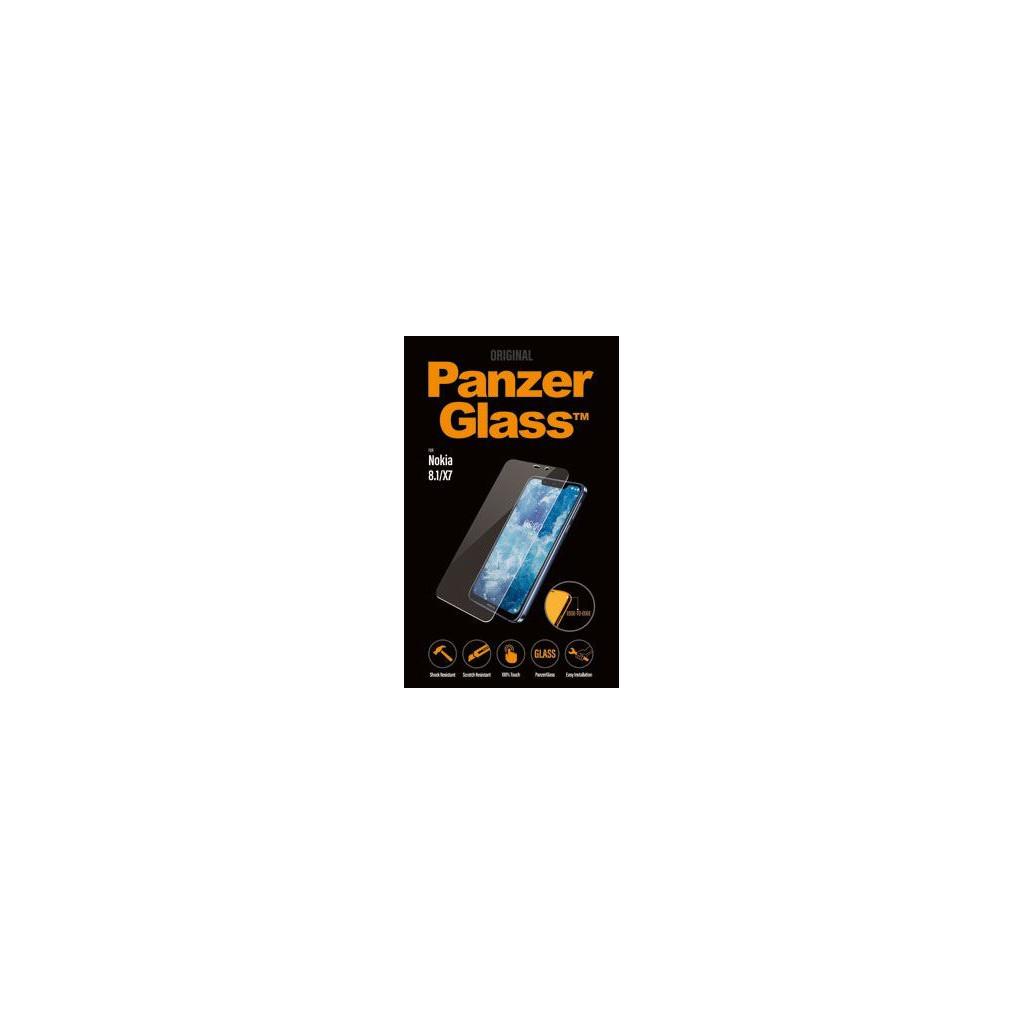PanzerGlass Nokia 8.1 Screenprotector Glas