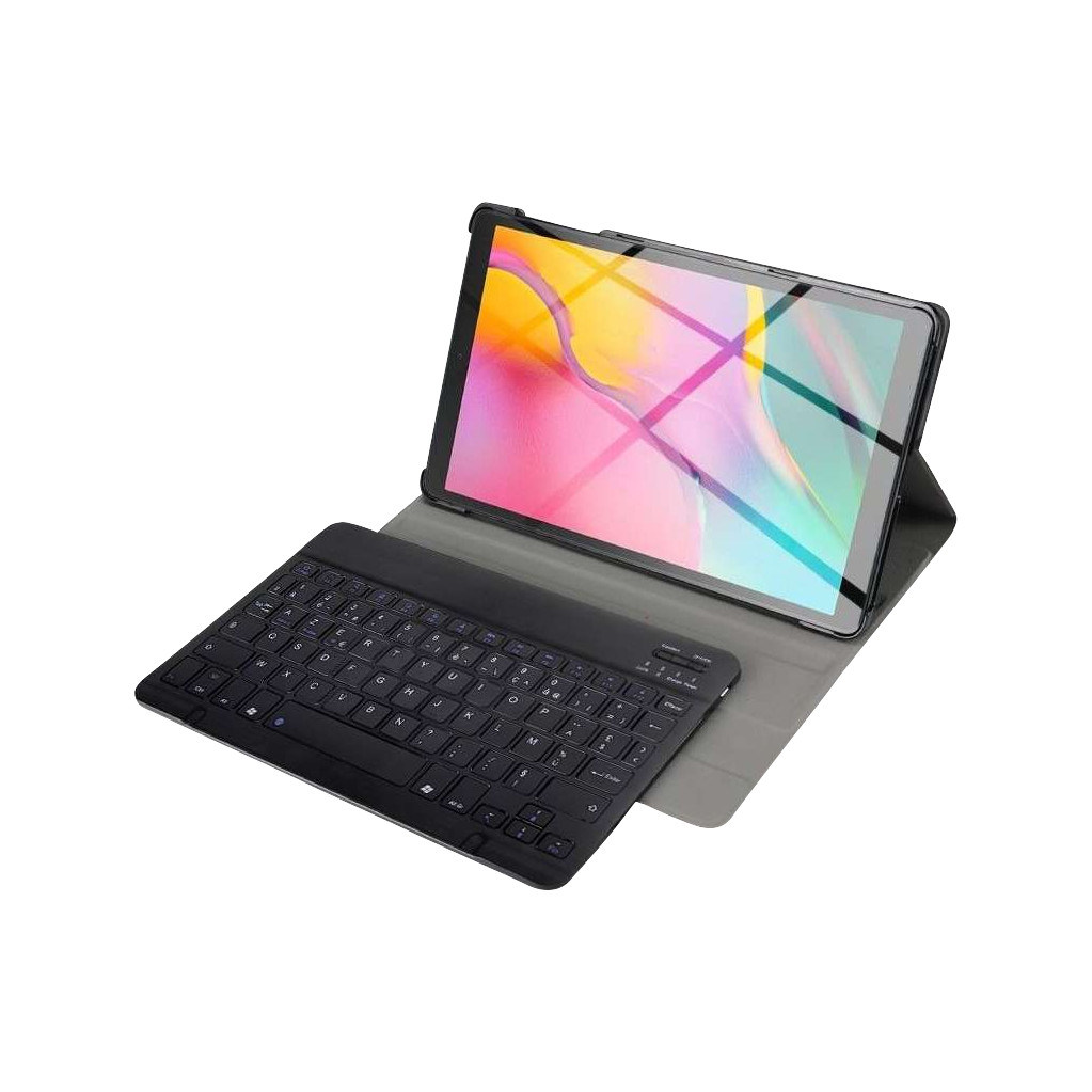 Just in Case Premium Bluetooth Keyboard Samsung Galaxy Tab S5e Book Case Zwart AZERTY