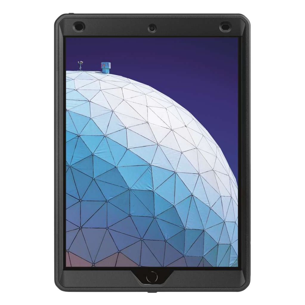 Just in Case Heavy Duty Apple iPad Air (2019) Back Cover Zwart