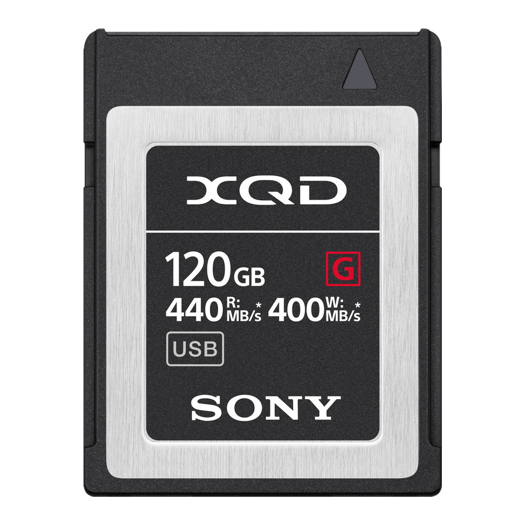 Sony XQD G 120GB High Speed R440 W400