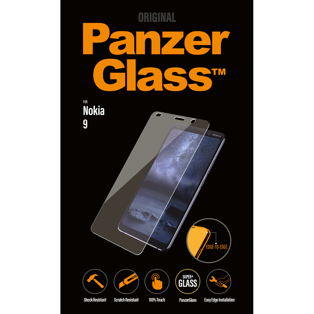PanzerGlass Nokia 9 PureView Screenprotector Glas