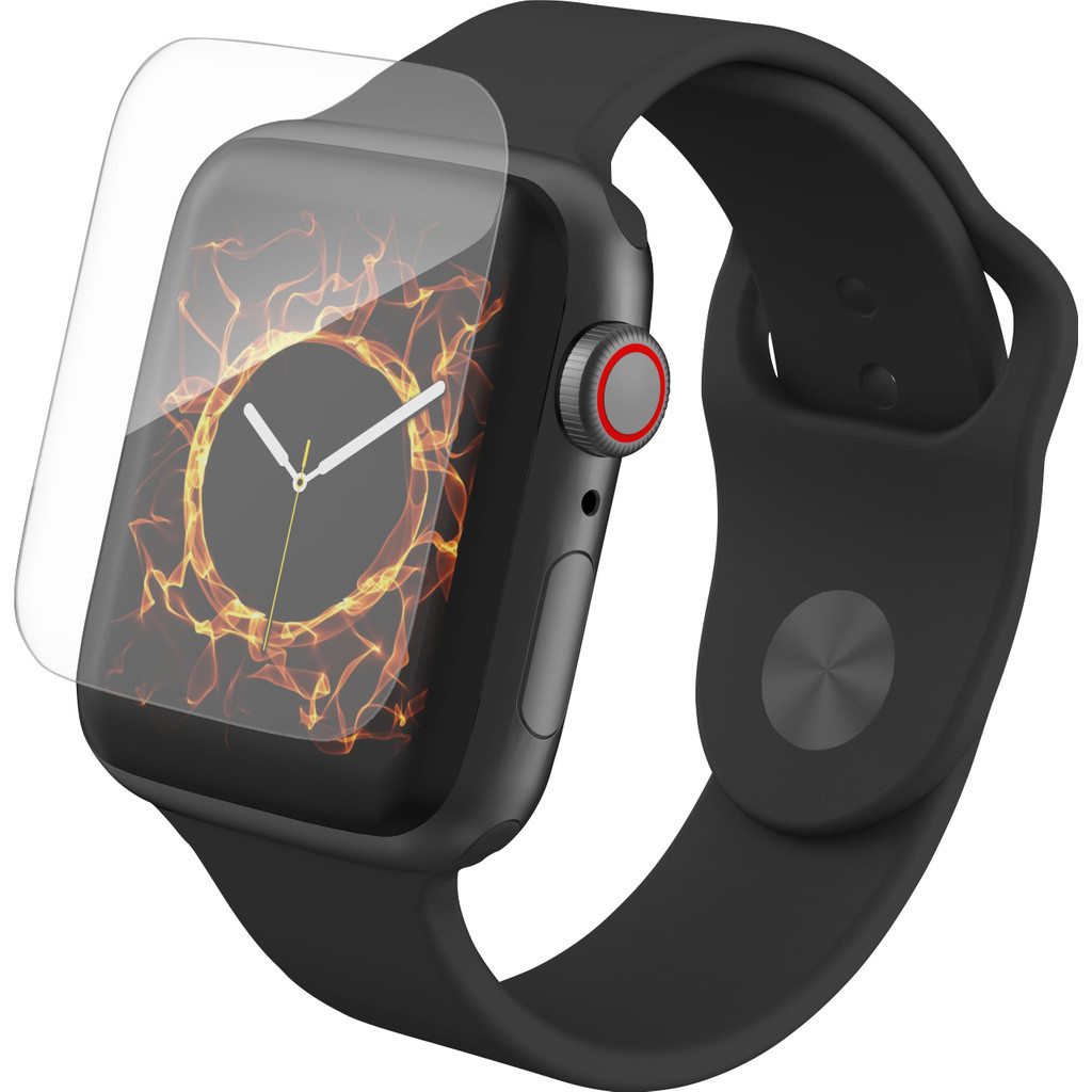 InvisibleShield HD Dry Apple Watch Series 4 44mm Screenprotector Plastic