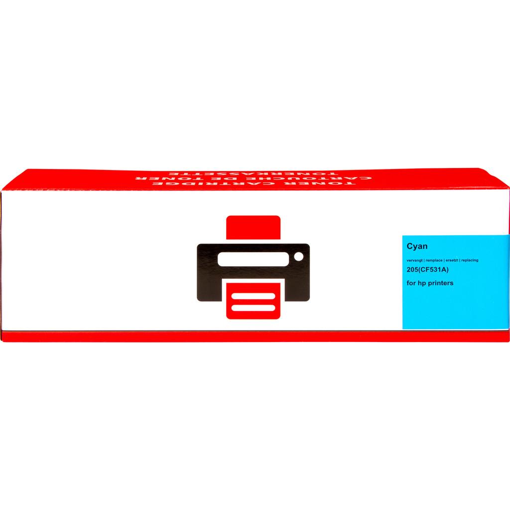 Pixeljet 205A Toner Cyaan XL voor HP printers (CF531A)