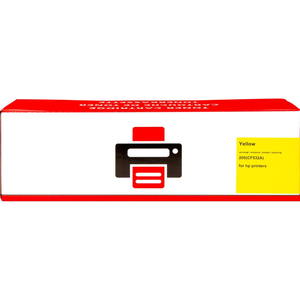 Pixeljet 205A Toner Geel XL voor HP printers (CF532A)