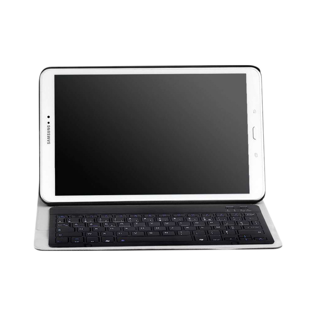 Just in Case Premium Samsung Galaxy Tab A 10.1 (2016) Toetsenbordhoes Zwart AZERTY