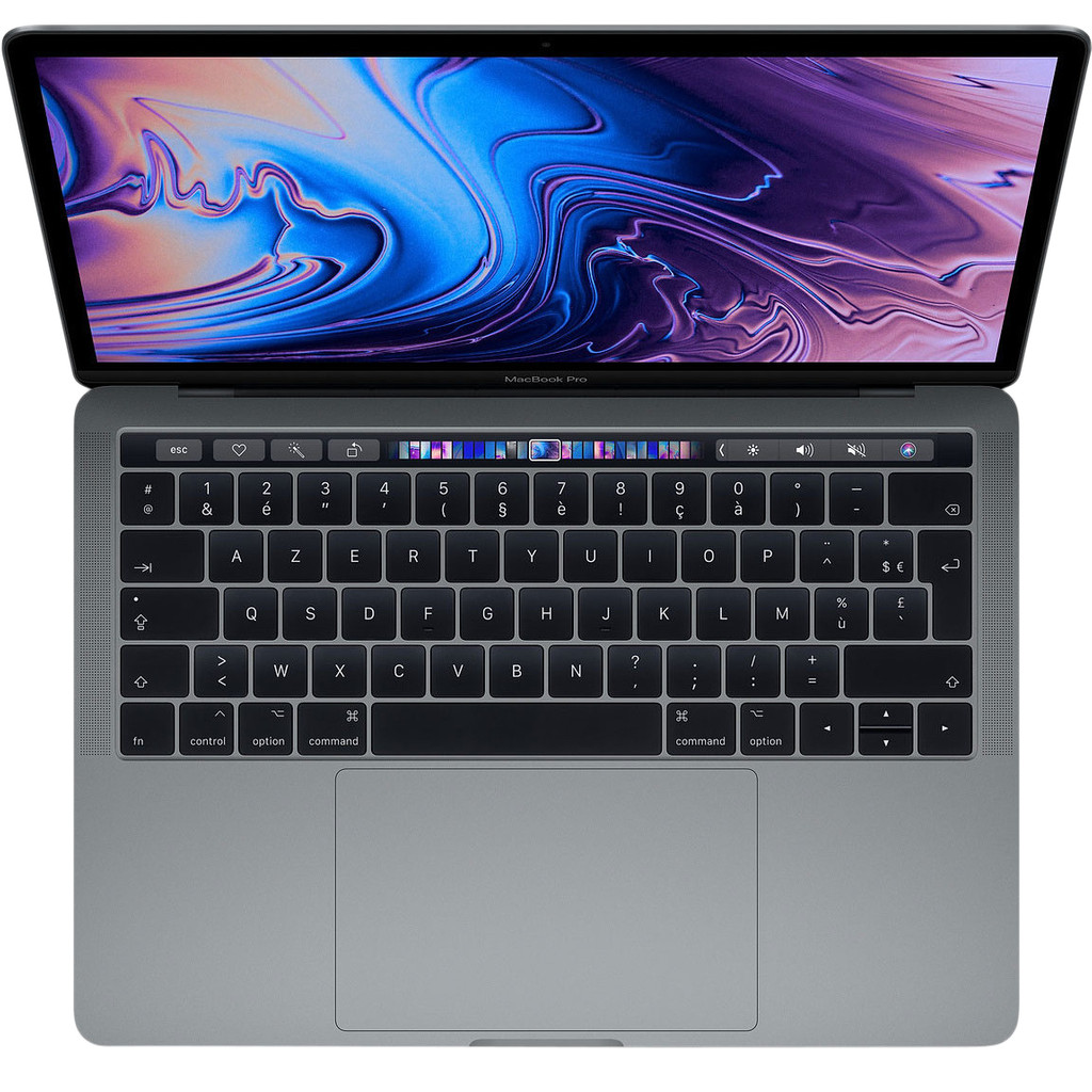 "Apple MacBook Pro 13"" Touch Bar (2019) 8/512GB 2,8GHz Space Gray Azerty"